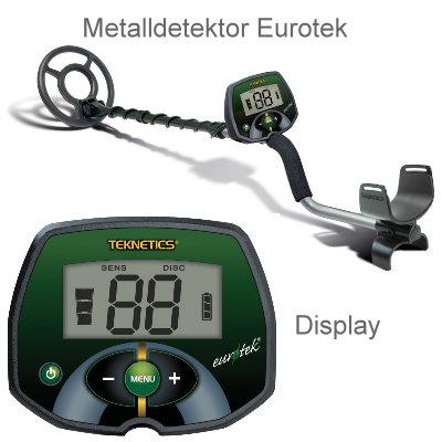 teknetics eurotek lte ausr stungspaket i metalldetektor pinpointer black huntmate. Black Bedroom Furniture Sets. Home Design Ideas