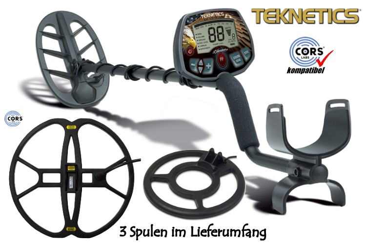 Metalldetektor Teknetics Liberator PRO & CORS Strike