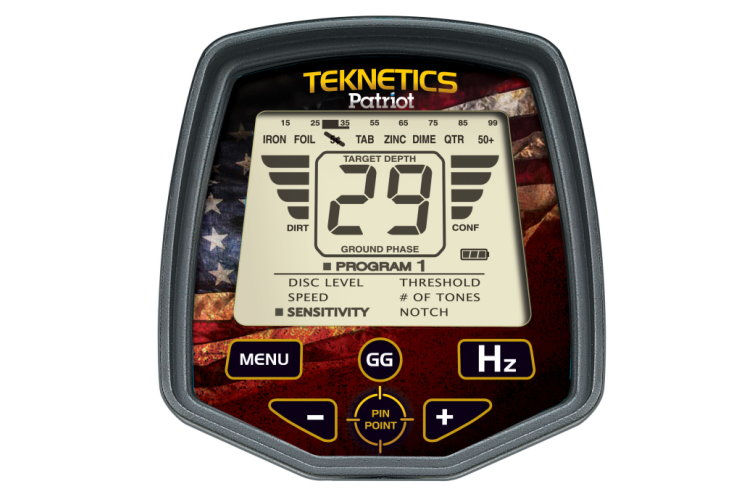 Metalldetektor Teknetics Patriot