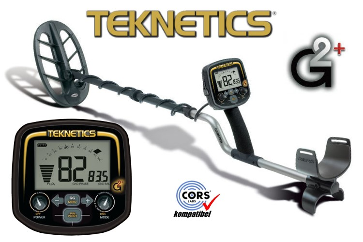 Teknetics G2 plus LTD Metalldetektor